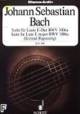 Ok�adka: Bach Johann Sebastian, Suita E-dur na lutni� BWV 1006a