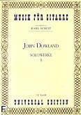 Ok�adka: Dowland John, Utwory na gitar� solo