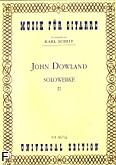 Okładka: Dowland John, Utwory na gitarę solo 2