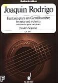 Ok�adka: Rodrigo Joaquin, Fantasia pere un Gentilhombre na gitar� i orkiestr�
