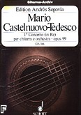Ok�adka: Castelnuovo-Tedesco Mario, I koncert (in d) na gitar� i orkiestr� op. 99