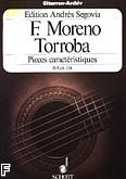Okładka: Moreno Torroba Federico, Pieces caracteristiques II