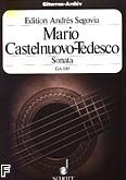 Ok�adka: Castelnuovo-Tedesco Mario, Sonata