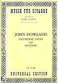 Okładka: Dowland John, Lachrymae Pavan, Fantasie