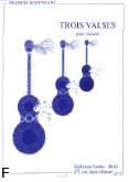 Ok�adka: Kleynjans Francis, Trois Valses