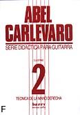 Okładka: Carlevaro Abel, Tecnica de la mano derecha 2