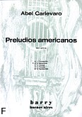 Okładka: Carlevaro Abel, Preludios americanos. Preludium nr 2 'Scherzino'