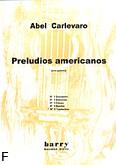 Ok�adka: Carlevaro Abel, Preludios americanos. Preludium nr 5 'Tamboriles'