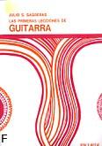 Ok�adka: Sagreras Julio S., Las primeras lecciones de guitarra