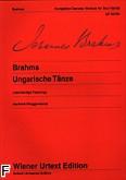 Okładka: Brahms Johannes, Tańce węgierskie