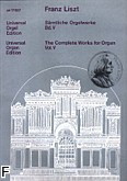 Ok�adka: Liszt Franz, Orgelwerke V