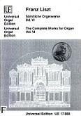 Ok�adka: Liszt Franz, Orgelwerke VI
