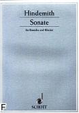 Okładka: Hindemith Paul, Sonata (1939) na altówkę i fortepian