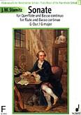 Ok�adka: Stamitz Johann Wenzel Anton, Sonata G-Dur na flet i b.c (wyc. fort.).