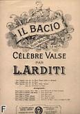 Ok�adka: Arditi Luigi, Il Bacio na kontralt i fortepian