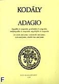 Ok�adka: Kodaly Zoltan, Adagio na skrzypce, wiolonczel� i fortepian /Part.+g�./