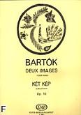 Okładka: Bartók Béla, Dwa Obrazki op. 10