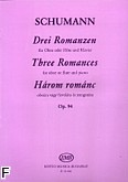 Okładka: Schumann Robert, 3 Romanzen op. 94 na obój /flet/ i fortepian