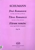 Ok�adka: Schumann Robert, 3 Romanzen op. 94 na ob�j /flet/ i fortepian