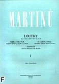 Okładka: Martinů Bohuslav, Marionertki 1 na fortepian
