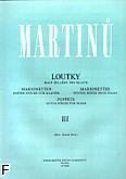 Okładka: Martinů Bohuslav, Marionertki 3 na fortepian