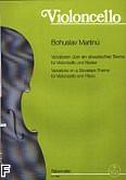 Okładka: Martinů Bohuslav, Wariacje Na Temat Słowiański Na Wiolonczelę I Fortepian