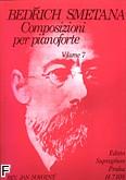 Okładka: Smetana Bedrich, Composizioni per pianoforte vol. 7
