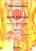 Ok�adka: Carlevaro Abel, 5 etiud na gitar� - etiuda nr 2