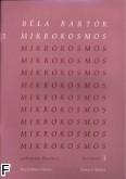 Okładka: Bartók Béla, Mikrokosmos /Urtext/ vol. 3 na fortepian