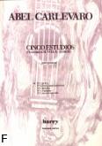 Okładka: Carlevaro Abel, 5 etiud na gitarę - etiuda nr 1