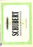 Ok�adka: Schubert Franz, Original-Kompositionen na fortepian na 4 r�ce