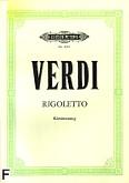 Okładka: Verdi Giuseppe, Rigoletto (wyc. Fort.)