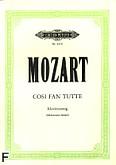 Okładka: Mozart Wolfgang Amadeusz, Cosi Fan Tutte