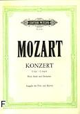 Okładka: Mozart Wolfgang Amadeusz, Koncert C-Dur na flet, harfę i ork, (wyc. fort.)