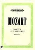 Okładka: Mozart Wolfgang Amadeusz, Basien Und Bastienne [niem.]