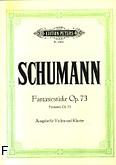 Ok�adka: Schumann Robert, Fantasiestucke op. 73 na skrzypce i fortepian