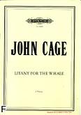 Ok�adka: Cage John, Litany For The Whale na 2 g�osy