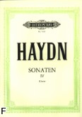 Okładka: Haydn Franz Joseph, Sonaty na fortepian vol. IV - Urtext