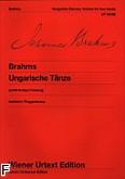 Ok�adka: Brahms Johannes, Ta�ce w�gierskie na fortepian Nr 1-10 /Urt,/