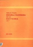 Okładka: Pujol Emilio, Escuela razonada de la guitarra cz. 1. (Szkoła na gitarę cz. 1)