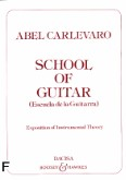 Ok�adka: Carlevaro Abel, Szko�a na gitar� /w j�z. ang./