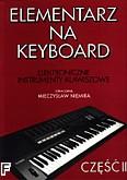 Okładka: Niemira Mieczysław, Elementarz na keyboard 2