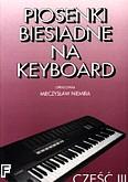 Ok�adka: Niemira Mieczys�aw, Piosenki biesiadne, cz. 3