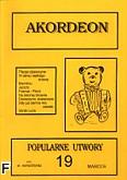 Okładka: Wiśniewski Marek, Wiśniewski Stanisław, Akordeon (z serii Biały Miś) 19