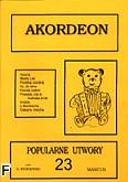 Ok�adka: Wi�niewski Stanis�aw, Akordeon (z serii Bia�y Mi�) 23