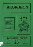 Ok�adka: Wi�niewski Stanis�aw, Akordeon (z serii Bia�y Mi�) 26