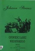 Okładka: Strauss Johann, Opowieści lasku wiedeńskiego