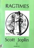 Okładka: Joplin Scott, Ragtimes z. 1