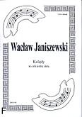 Ok�adka: Janiszewski Wac�aw, Kol�dy na orkiestr� d�t� (partytura)