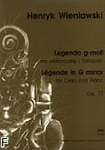 Ok�adka: Wieniawski Henryk, Legenda g-moll op.17